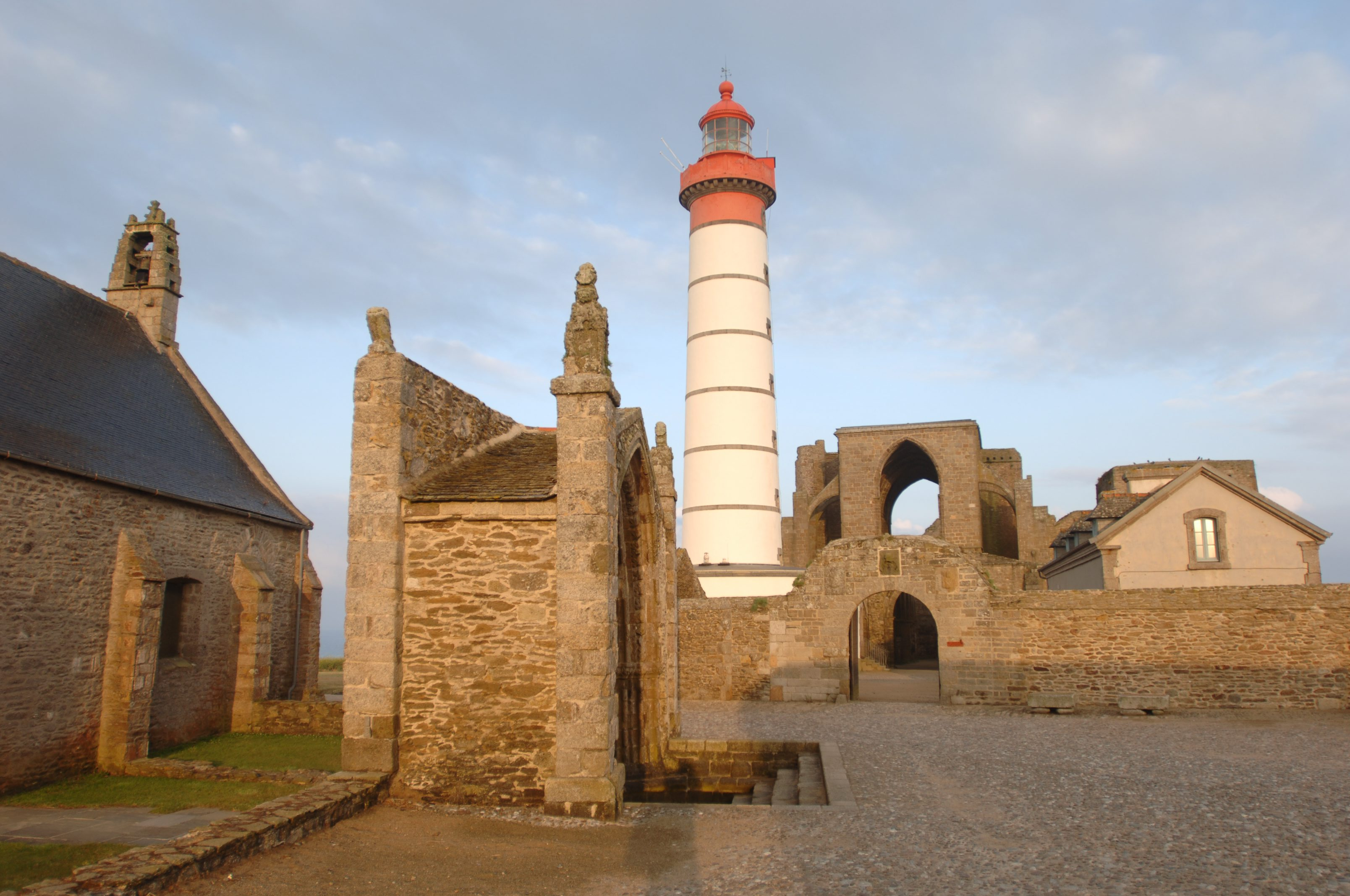 Le phare Saint-Mathieu
