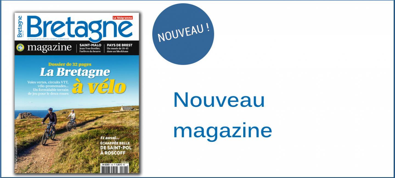 Bretagne Magazine N°107 La Bretagne à vélo