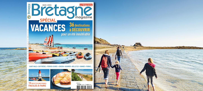 Couverture de Bretagne Magazine du hors-série vacances